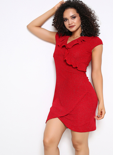 Sense Elbise Kırmızı